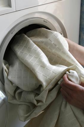 Gardinen waschen